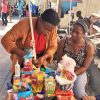 Ambassador Marli as a Vendor in Haiti