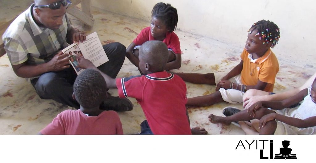 Hope Team reads to kids