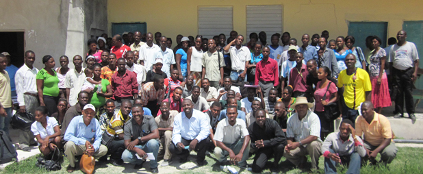 Color of Hope Teacher training in La Gonave Haiti