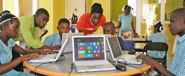 digital literacy in Haiti