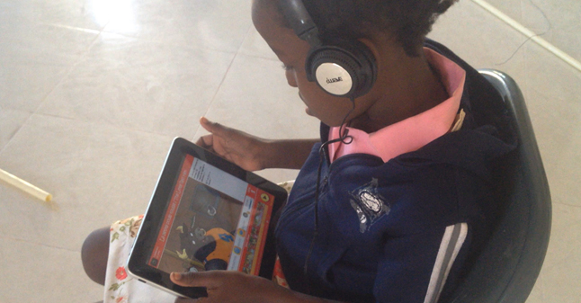 Using technology to educate children in Haiti