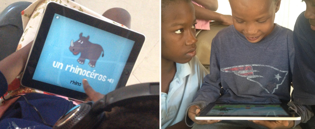 Technology for education in Haiti