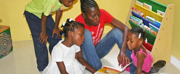 Haiti School at our Community Technology Center