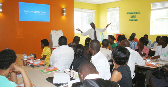 Teacher Training in Haiti