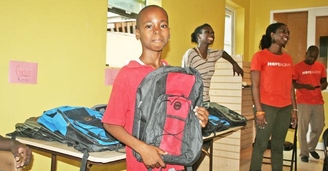 Back to School Drive in Haiti