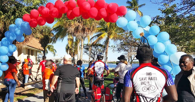 7th Annual Save Haiti Bike Ride 1.14.17