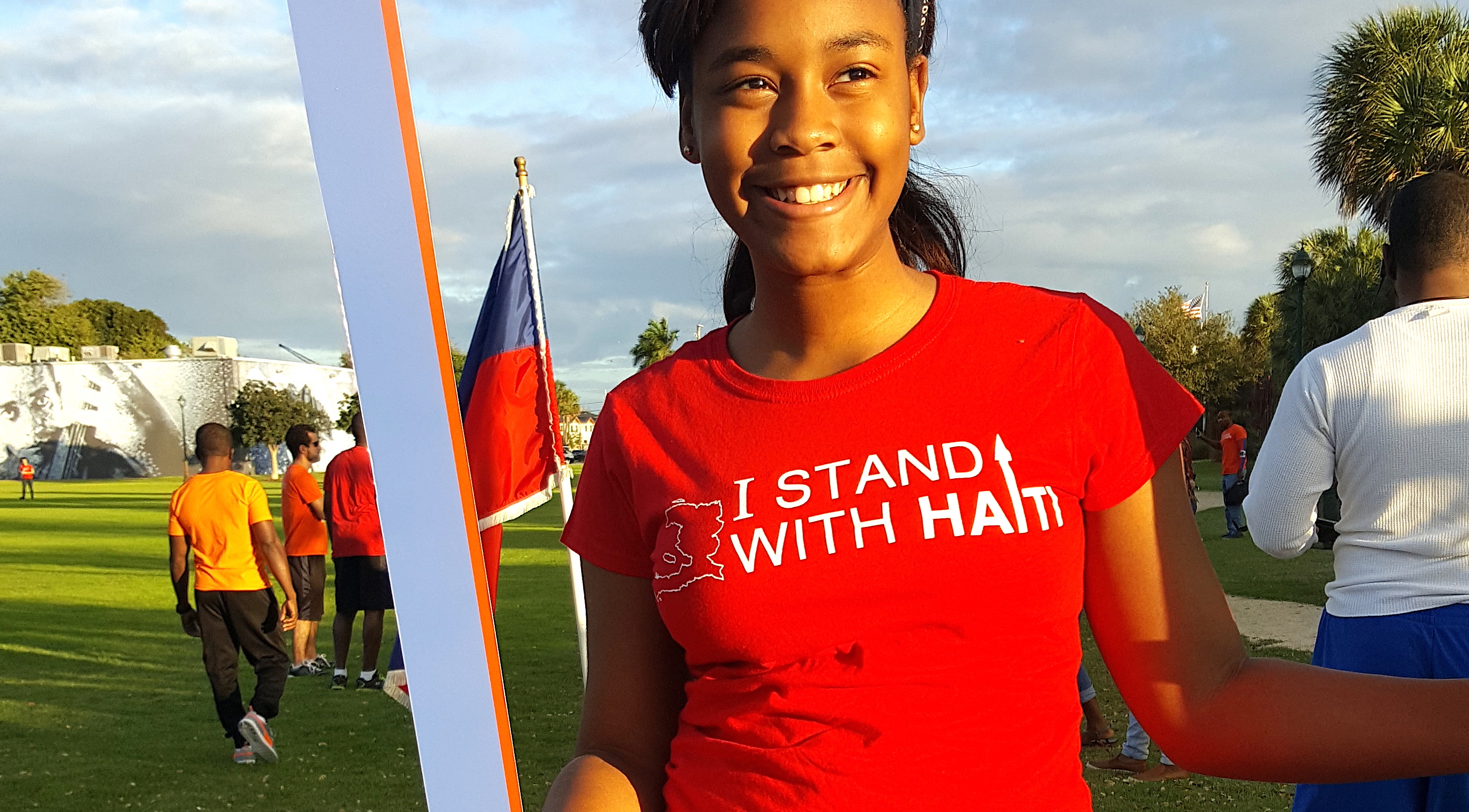 I Stand With Haiti 2017