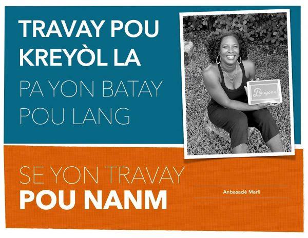 Travay pou Kreyòl pa yon batay pou lang se yon travay pou nanm